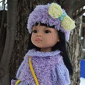 Куклы и игрушки handmade. Livemaster - original item Violet clothing set for Paola Reina doll.. Handmade.