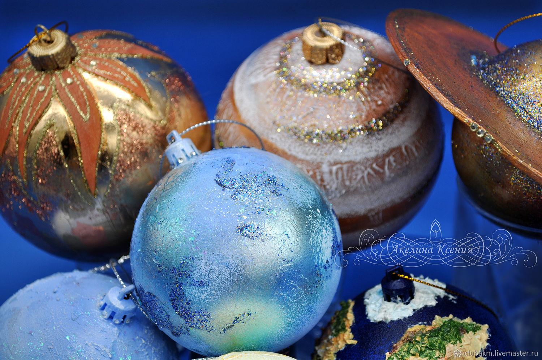 Balls on the Christmas tree planet, Christmas decorations, Chelyabinsk,  Фото №1