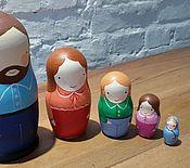 Куклы и игрушки ручной работы. Ярмарка Мастеров - ручная работа Матрешки Семья. Handmade.