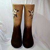 Обувь ручной работы. Ярмарка Мастеров - ручная работа Цветение черешни. Handmade.