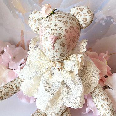 Куклы и игрушки ручной работы. Ярмарка Мастеров - ручная работа Тильда мишка. Handmade.
