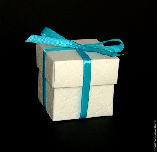 Упаковка ручной работы. Ярмарка Мастеров - ручная работа. Купить Бонбоньерка свадебная. Handmade. Белый, свадебные бонбоньерки, подарочные коробки