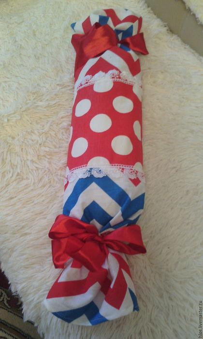 Текстиль, ковры ручной работы. Ярмарка Мастеров - ручная работа. Купить валик ортопедический с лузгой гречки. Handmade. Комбинированный, для здоровья