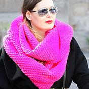 Аксессуары handmade. Livemaster - original item Snood knitted women`s