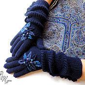 """Аксессуары ручной работы. Ярмарка Мастеров - ручная работа Купить  перчатки """" С днём рождения"""". Handmade."""