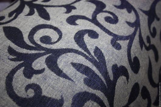 """Шитье ручной работы. Ярмарка Мастеров - ручная работа. Купить НОВИНКА Ткань костюмная """"ЗЛАТО"""". Handmade. Тёмно-синий"""