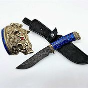 Сувениры и подарки handmade. Livemaster - original item Knife Boar-2. Handmade.
