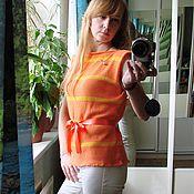 Одежда ручной работы. Ярмарка Мастеров - ручная работа Топ Календула. Handmade.
