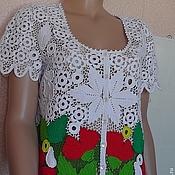 """Одежда ручной работы. Ярмарка Мастеров - ручная работа Блуза """"ЛЕТО"""". Handmade."""