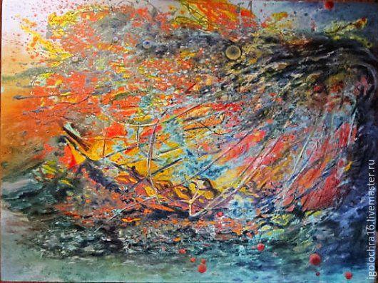 Картина маслом Гибель Титаника.