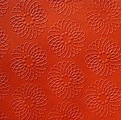 """Бумага ручной работы. Ярмарка Мастеров - ручная работа """"Апельсиновый"""" кардсток,  (35 Колорс) - для позитивного настроя!. Handmade."""