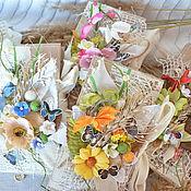 Сувениры и подарки ручной работы. Ярмарка Мастеров - ручная работа Шоколадницы в стиле кантри. Handmade.