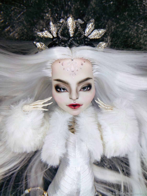 ООАК Скелита Калаверас Снежная королева мёртвых, Шарнирная кукла, Владимир,  Фото №1