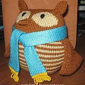 Куклы и игрушки ручной работы. Ярмарка Мастеров - ручная работа Мягкая сова. Handmade.