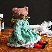 Куклы и игрушки ручной работы. Ярмарка Мастеров - ручная работа Мишка Вероника маму нашла. Handmade.