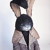 Куклы и игрушки ручной работы. Ярмарка Мастеров - ручная работа Тео, заяц тедди. Handmade.