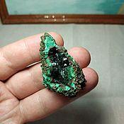 Материалы для творчества handmade. Livemaster - original item The malachite crystals in a Geode. Handmade.