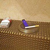 Для дома и интерьера ручной работы. Ярмарка Мастеров - ручная работа Пепельница из латуни. Handmade.