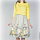 Юбки ручной работы. Заказать юбка из купонной ткани.желтые розы. Marina Vladyy (vladyy2). Ярмарка Мастеров. Купонная ткань