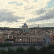 Картины и панно handmade. Livemaster - original item Rome. Eternal city painting artist Ulumbekov. Handmade.
