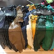 Материалы для творчества handmade. Livemaster - original item Crocodile leather, clothing, haberdashery, footwear, different colors.. Handmade.