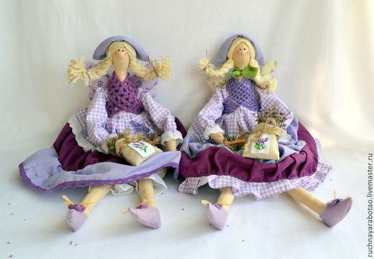 Куклы Тильды ручной работы. Ярмарка Мастеров - ручная работа. Купить Тильда. Handmade. Тильда, прованс, лаванда, ангел, холлофайбер