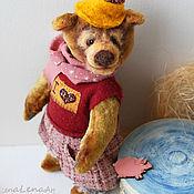Мягкие игрушки ручной работы. Ярмарка Мастеров - ручная работа Кукла коллекционный мишка Love Story. Handmade.