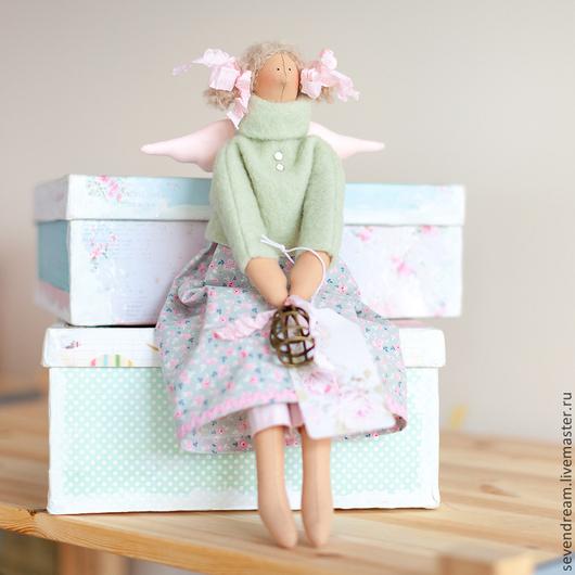 Куклы Тильды ручной работы. Ярмарка Мастеров - ручная работа. Купить Кукла Тильда. Ангел домашнего уюта.. Handmade.
