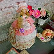 Куклы и игрушки ручной работы. Ярмарка Мастеров - ручная работа Грелка на чайник в стиле Тильда. Handmade.