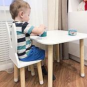 handmade. Livemaster - original item Children`s Table square. Handmade.