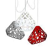 Для дома и интерьера handmade. Livemaster - original item ZAHA trehrozhkovye tricolor LIGHT chandelier 15. Handmade.