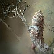 """Куклы и игрушки ручной работы. Ярмарка Мастеров - ручная работа """"Птичка с яичком"""" ватная елочная игрушка, висюлька. Handmade."""
