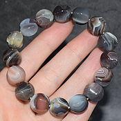Украшения handmade. Livemaster - original item Bracelet made of natural stone agate. Handmade.
