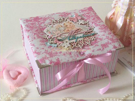Подарки для новорожденных, ручной работы. Ярмарка Мастеров - ручная работа. Купить Мамины сокровища для малышки. Handmade. Розовый, малыш, хлопок