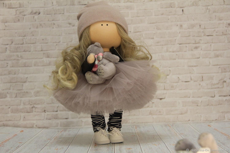 Интерьерная кукла, Тыквоголовка, Москва,  Фото №1