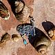 Кулоны, подвески ручной работы. Подвеска из серебра на шею «Рыболов 2». Золото Гуру (zolotoguru). Интернет-магазин Ярмарка Мастеров.