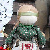 """Куклы и игрушки ручной работы. Ярмарка Мастеров - ручная работа Кукла народная  на здоровье """"Внучка знахарки"""". Handmade."""
