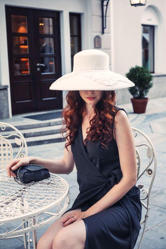 """Шляпы ручной работы. Ярмарка Мастеров - ручная работа. Купить Шляпа """"WW"""". Handmade. Headdresslab, handmade, шляпа, шляпа с полями"""