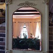 Для дома и интерьера ручной работы. Ярмарка Мастеров - ручная работа Зеркало настенное Прованс. Handmade.
