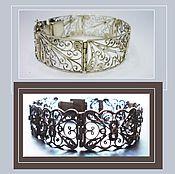 Винтаж ручной работы. Ярмарка Мастеров - ручная работа Старинный браслет из серебра. Handmade.