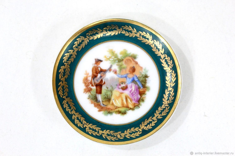 Plate miniature Limoges, Vintage plates, Kaliningrad,  Фото №1
