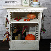"""Для дома и интерьера ручной работы. Ярмарка Мастеров - ручная работа """"Молочные кружева"""" столик островок. Handmade."""