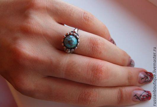 """Винтажные украшения. Ярмарка Мастеров - ручная работа. Купить Бесподобное кольцо""""Небо Юпитера"""" винтаж 80-е США. Handmade. Кольцо"""