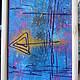 Абстракция ручной работы. абстракция. Наталья. Интернет-магазин Ярмарка Мастеров. Стрела, фиолетовый, абстракция