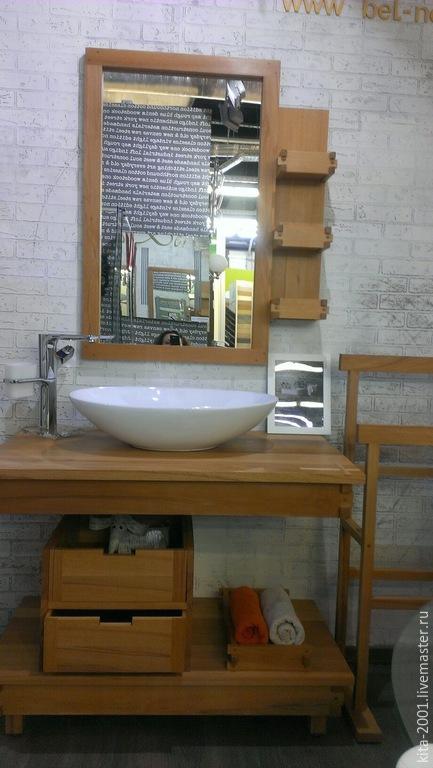 мебель для ванной комнаты в эко стиле купить в интернет магазине