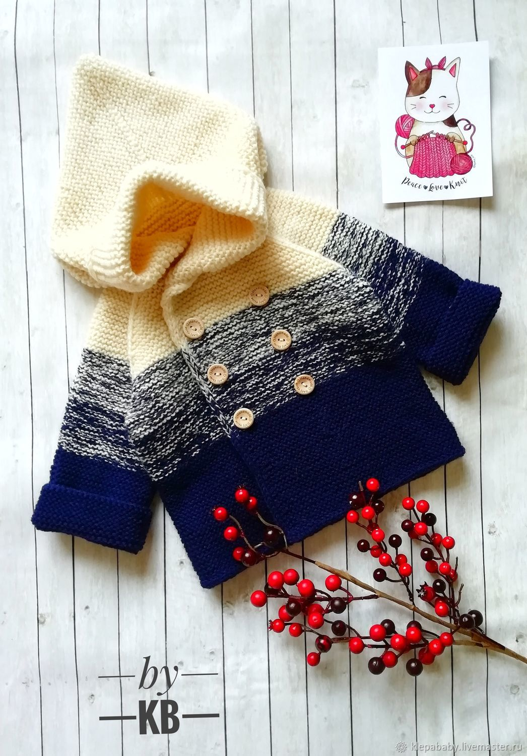 Cardigan for baby, Sweater Jackets, St. Petersburg,  Фото №1