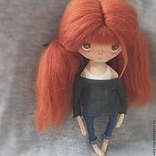 Куклы и игрушки ручной работы. Ярмарка Мастеров - ручная работа Текстильная кукла_1. Handmade.