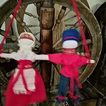 Куклы и игрушки ручной работы. Ярмарка Мастеров - ручная работа Куклы: Неразлучники. Handmade.