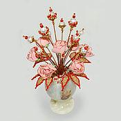 Цветы и флористика handmade. Livemaster - original item Pearl flowers