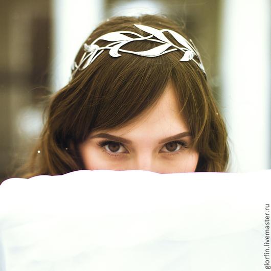 Диадема венец тиара корона, эльфийские украшения, эльфийская диадема, свадебная диадема, диадема невесты,Глорфин